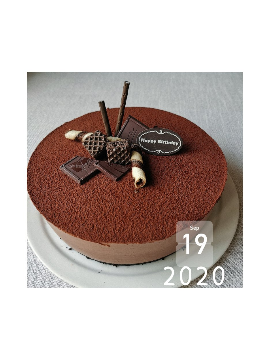 巧克力慕斯蛋糕 8寸的做法