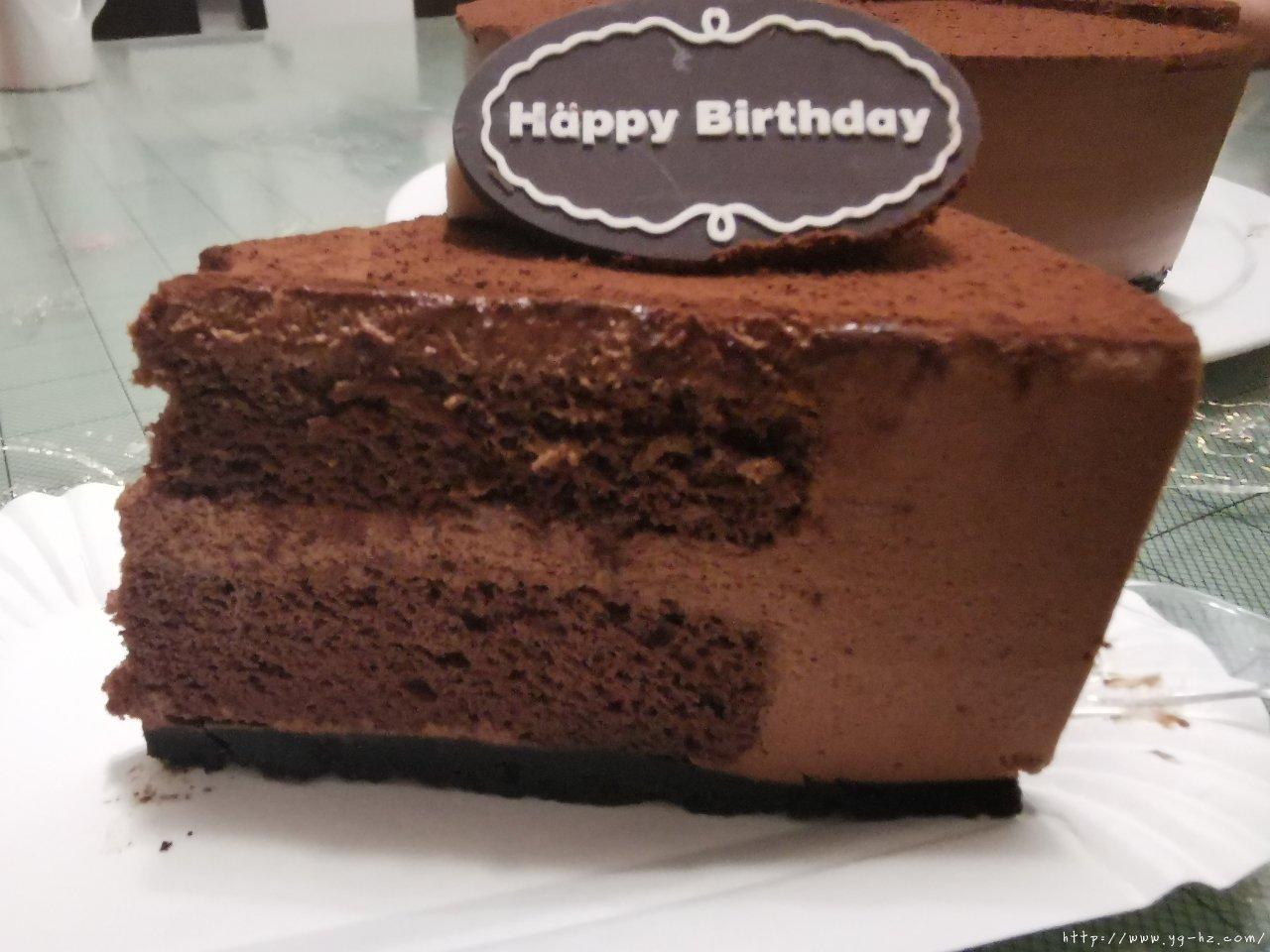 巧克力慕斯蛋糕 8寸的做法 步骤8