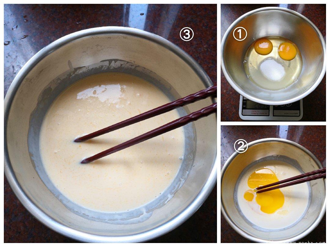 苹果千层蛋糕(6寸)的做法 步骤3