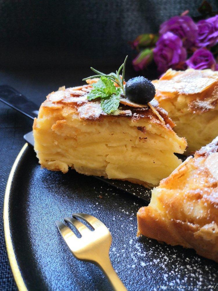 苹果千层蛋糕(6寸)的做法 步骤9