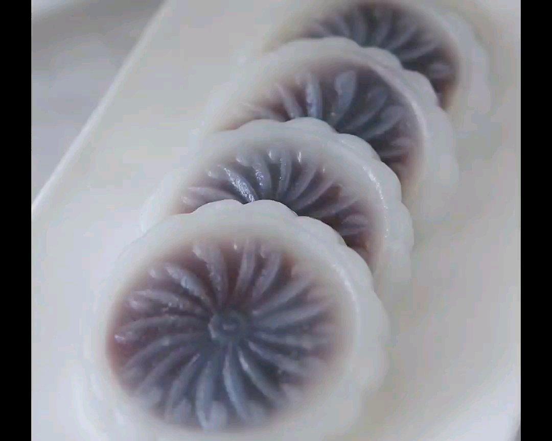 广东经典点心-豆沙水晶饼的做法