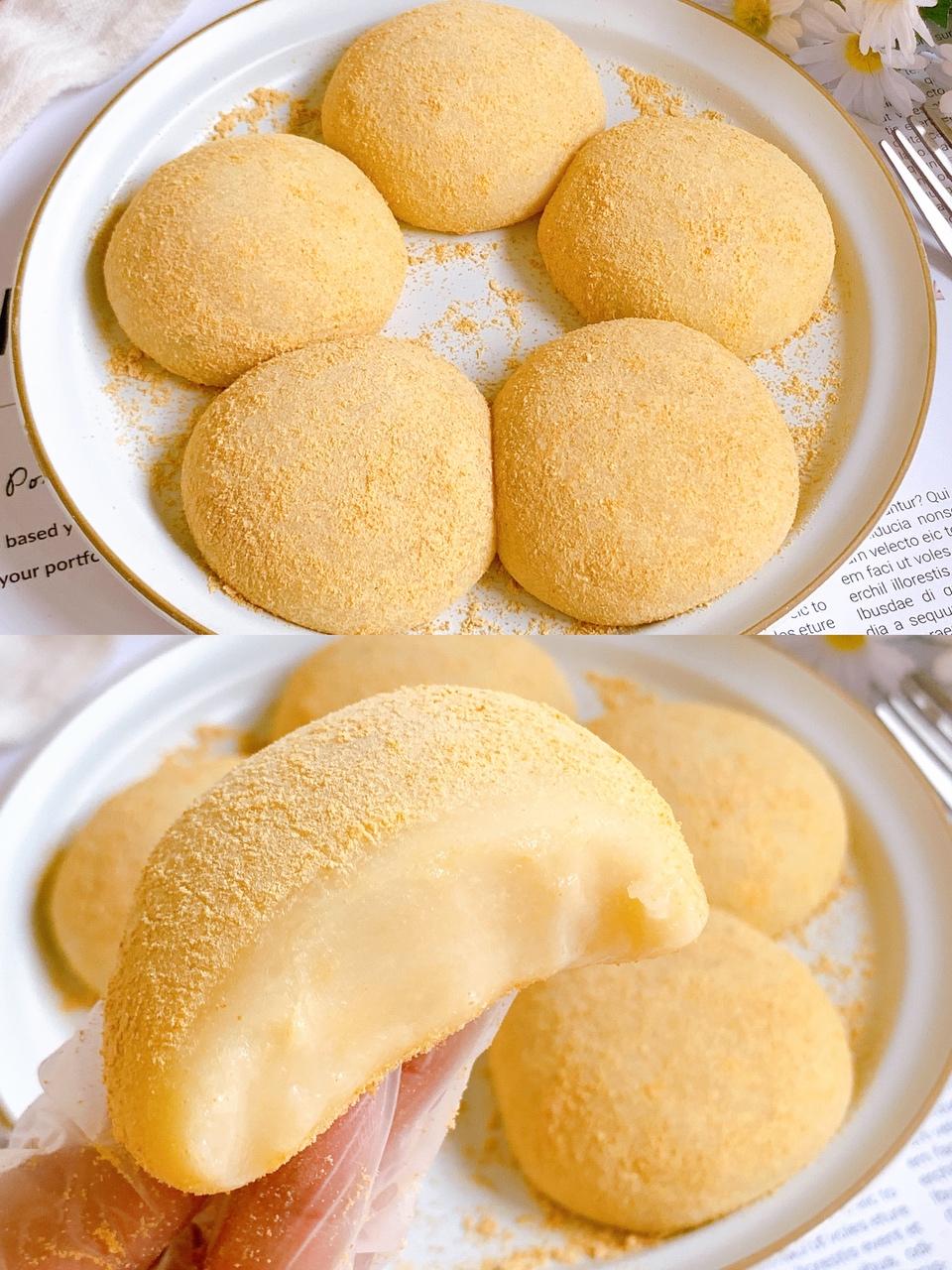 香甜软糯好吃到哭的黄豆糯米球,巨简单~的做法