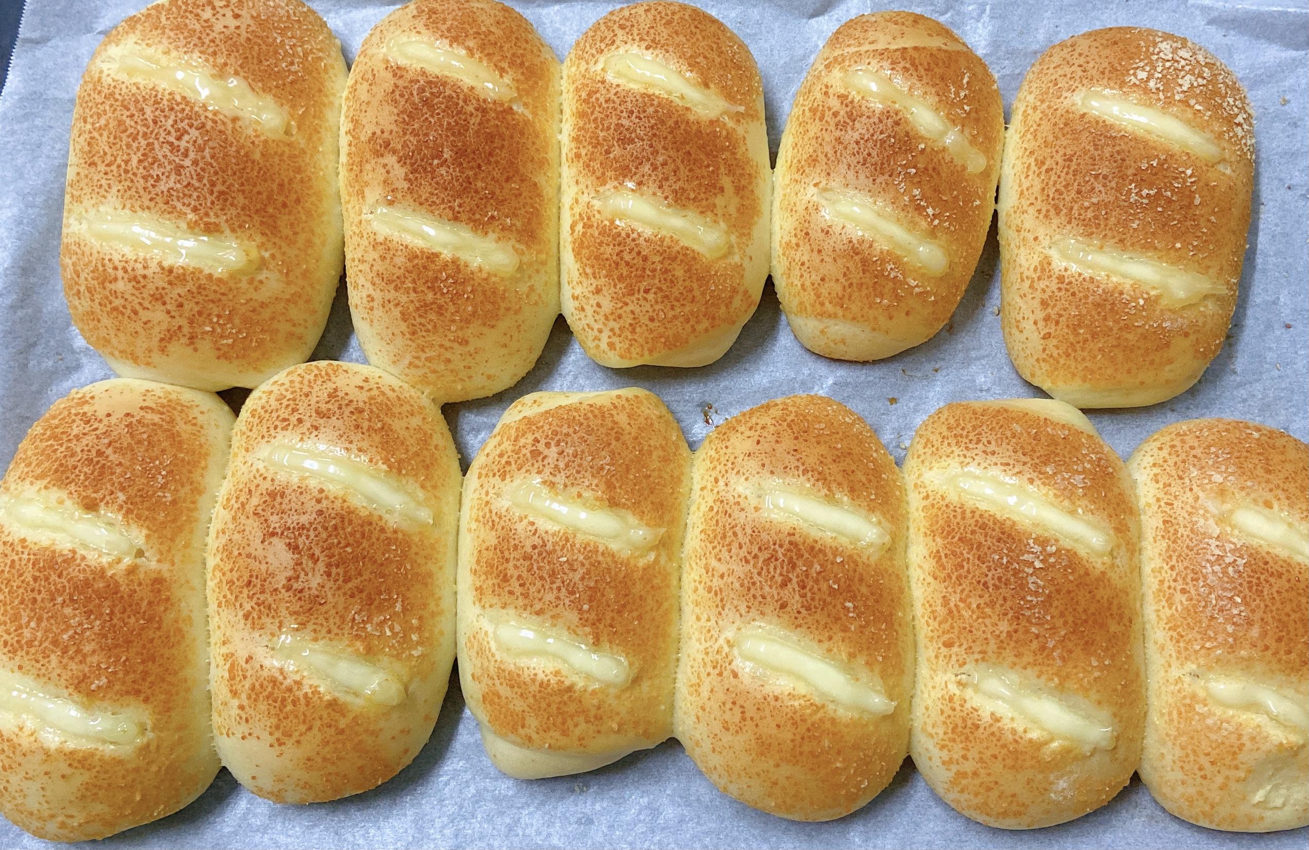 芝士火腿面包(一次发酵)的做法 步骤19