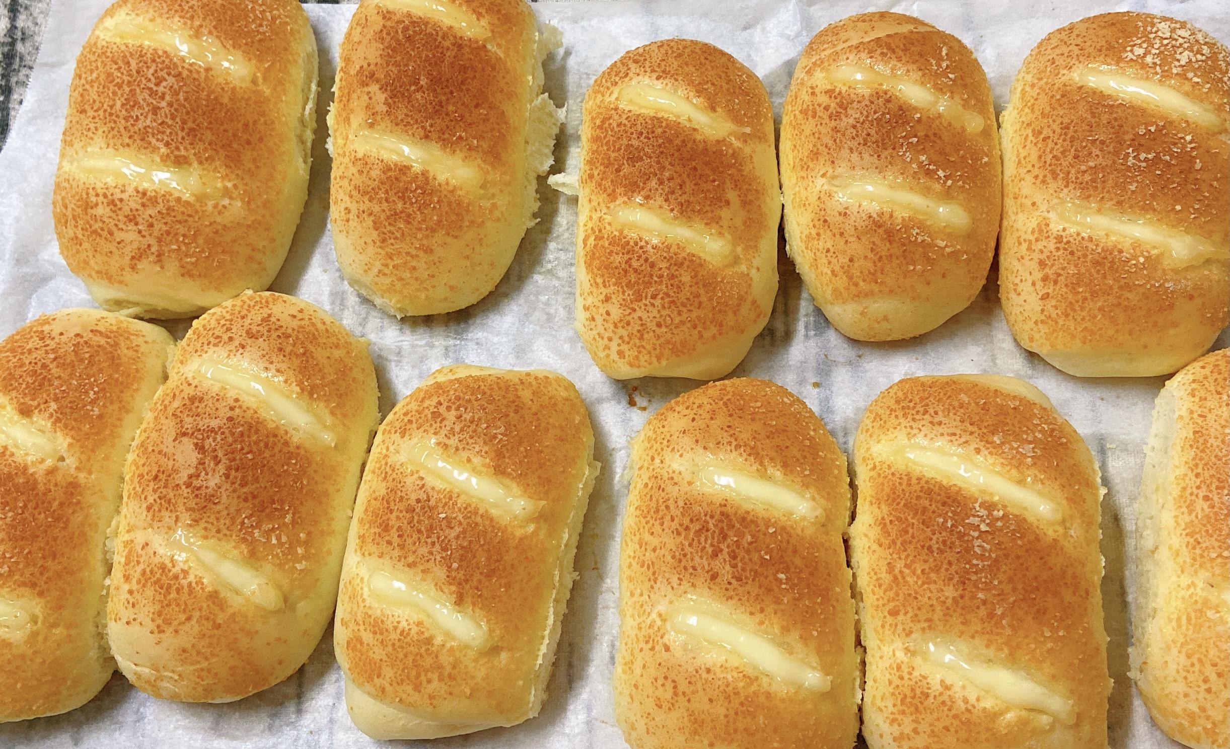 芝士火腿面包(一次发酵)的做法 步骤21