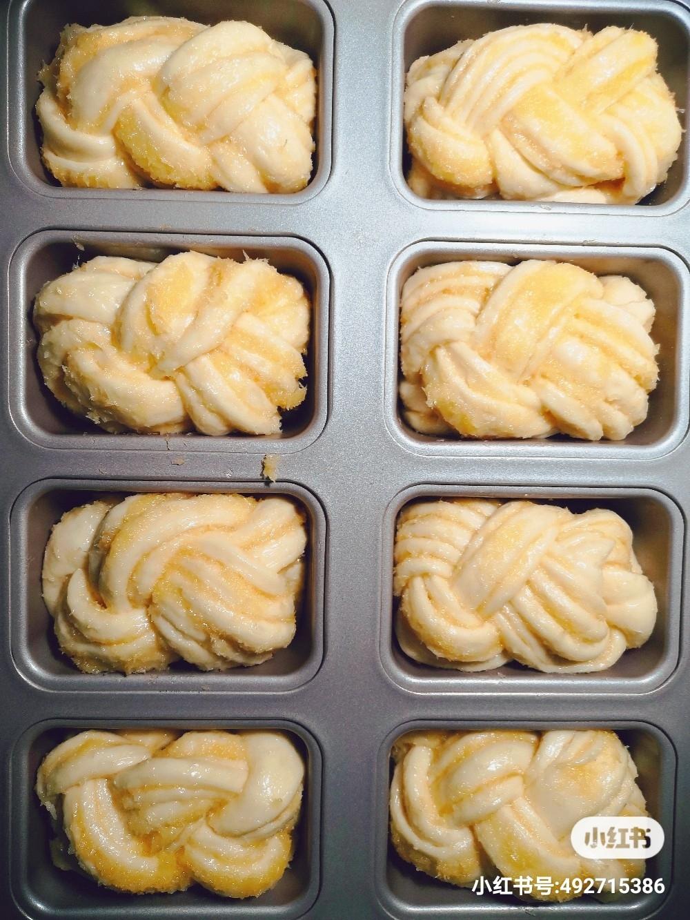迷你奶香椰蓉吐司的做法 步骤10