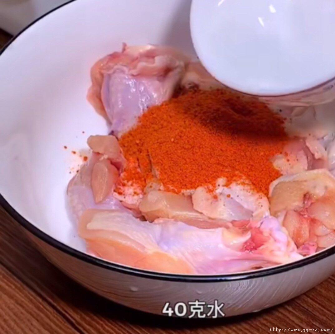 KFC   脆皮炸鸡的做法 步骤6
