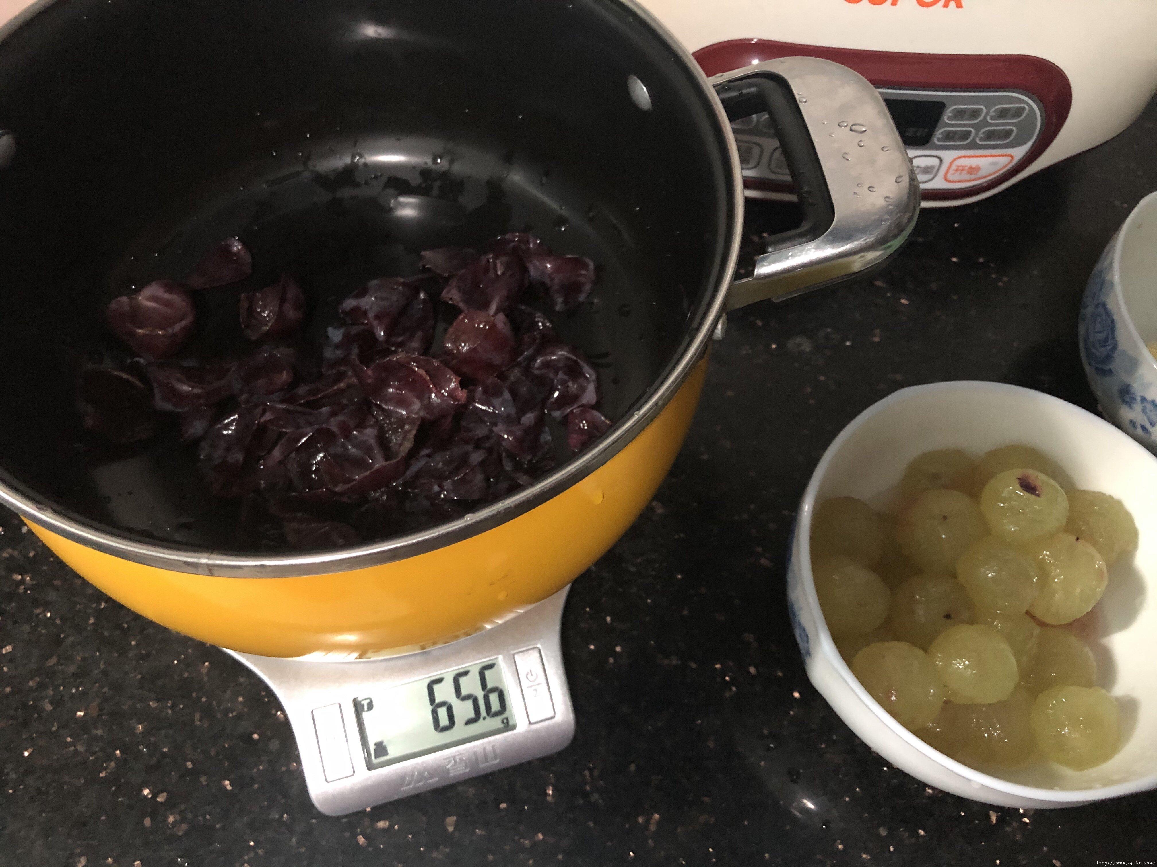 葡萄果冻(白凉粉版)的做法 步骤2
