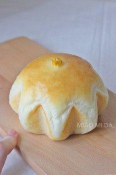 『玉米培根芝士面包』的做法步骤图