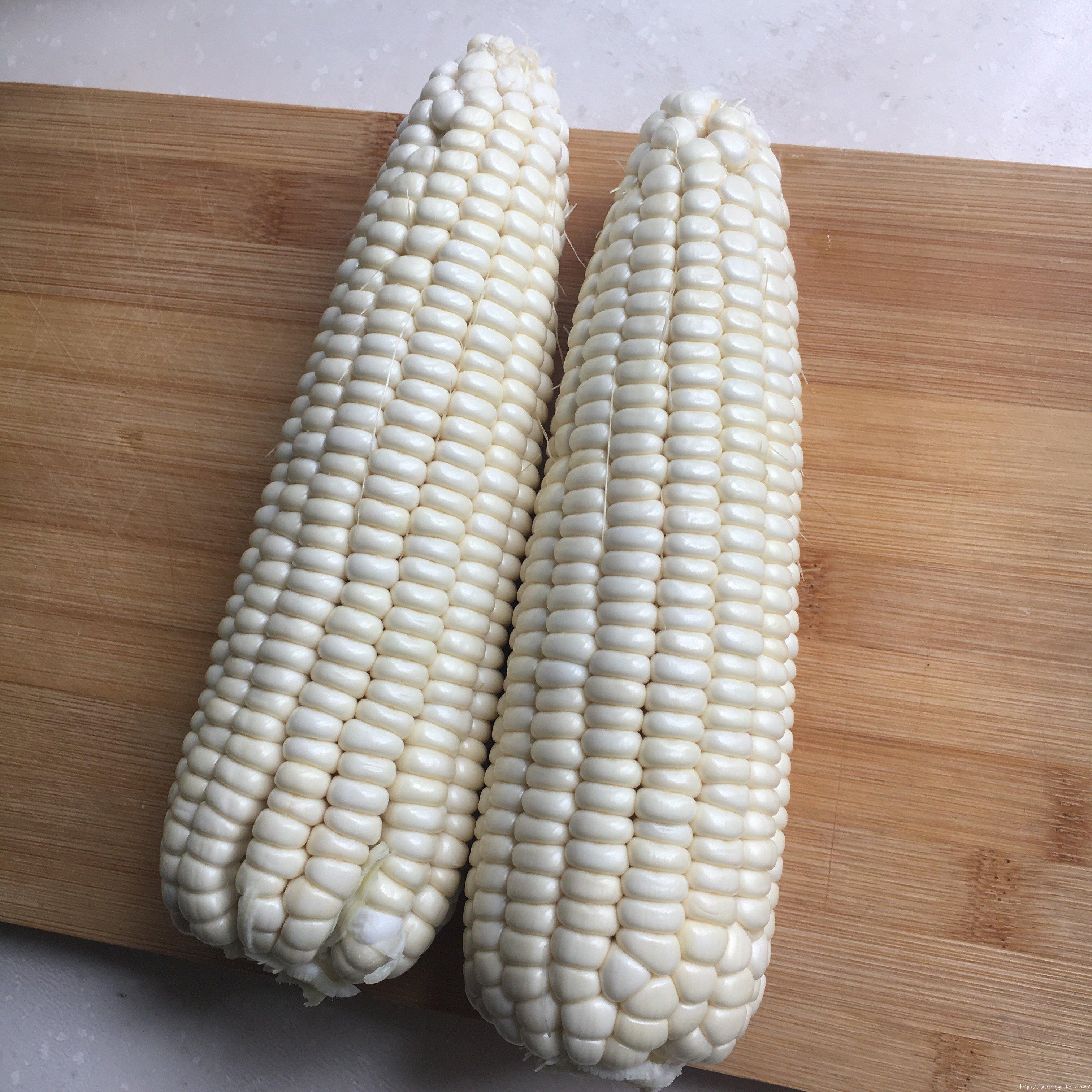 蒸鲜玉米糕一一玉米粑粑的做法 步骤16