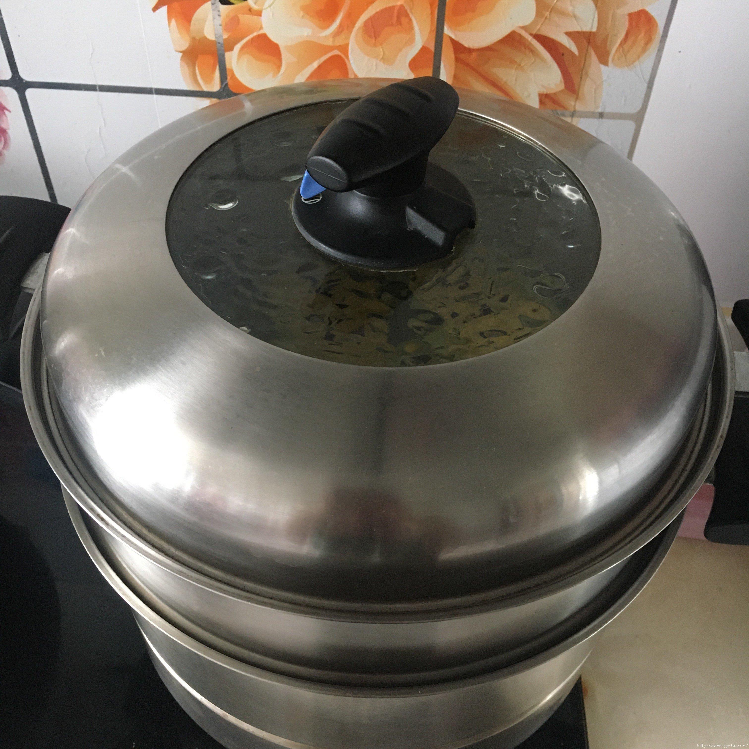 蒸鲜玉米糕一一玉米粑粑的做法 步骤11