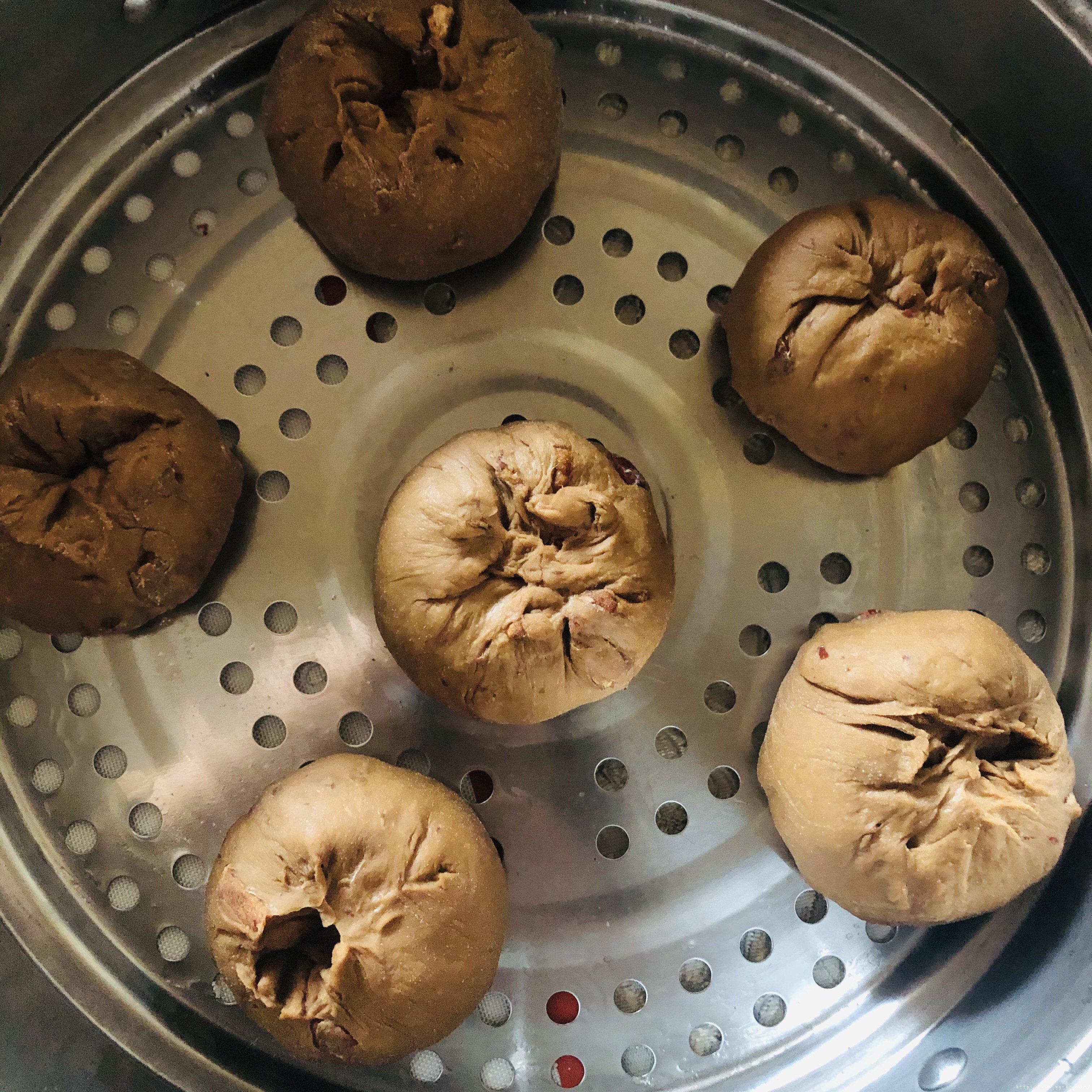 红枣开花馒头的做法 步骤10