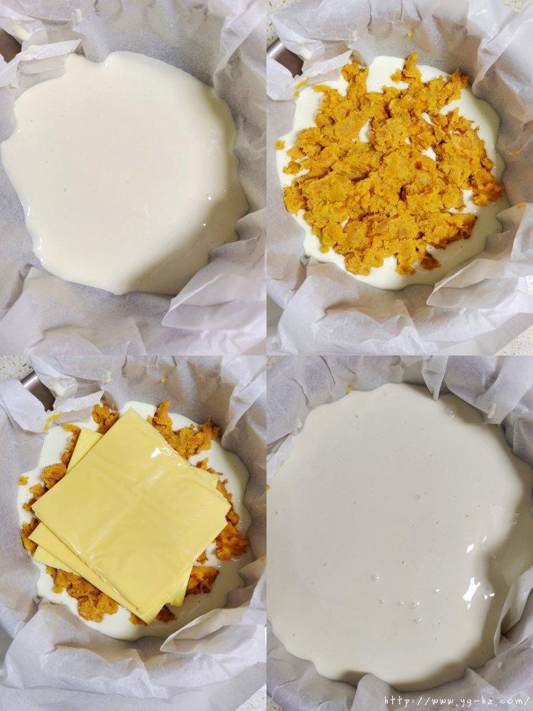 零失败外脆里糯芝士红薯烤年糕的做法 步骤3