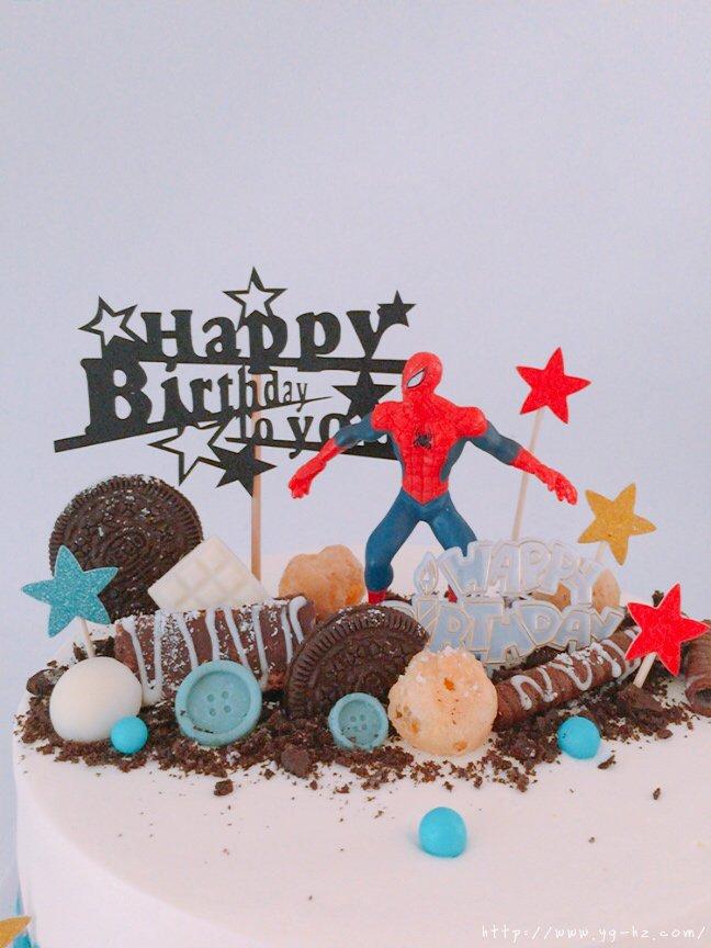 蜘蛛侠生日蛋糕(记录我做过的生日蛋糕)的做法 步骤2