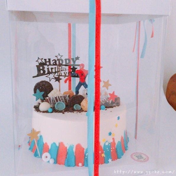 蜘蛛侠生日蛋糕(记录我做过的生日蛋糕)的做法 步骤5