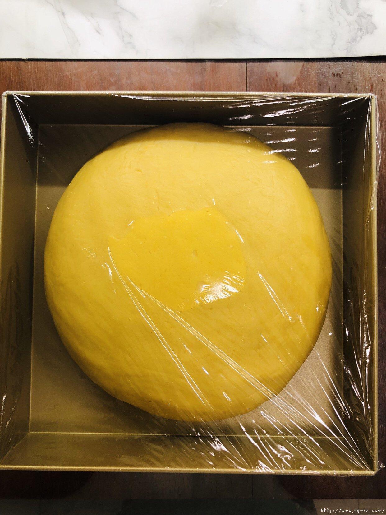 万用饼皮~延展性极好的广式月饼皮,各种花纹无压力的做法 步骤12