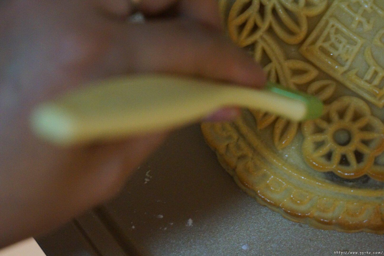 中秋月饼之比脸大的大月饼——全家团圆分享的做法 步骤24