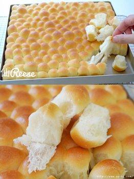 一口一个 手撕泡泡面包的做法_做法步骤
