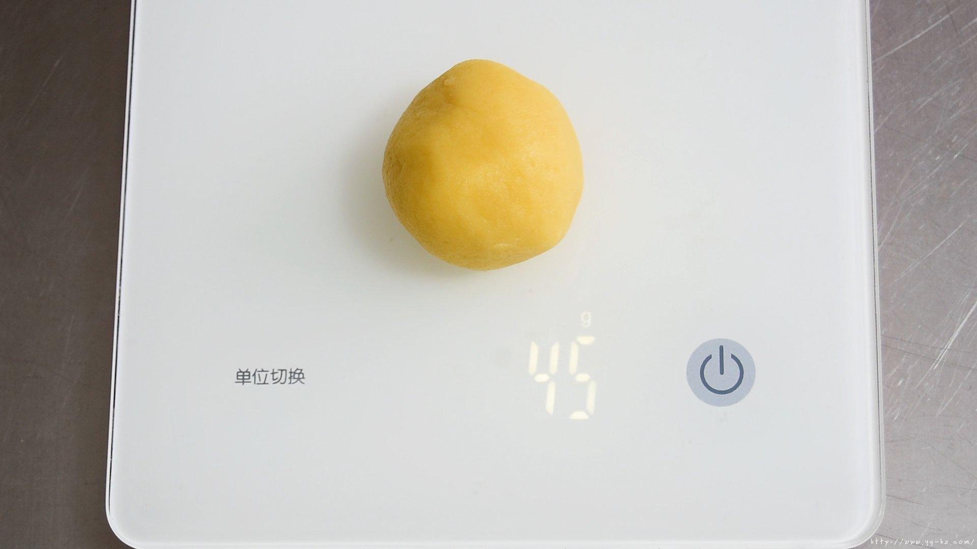 不用模具!简单又美味!!中秋  奶酪月饼的做法 步骤18
