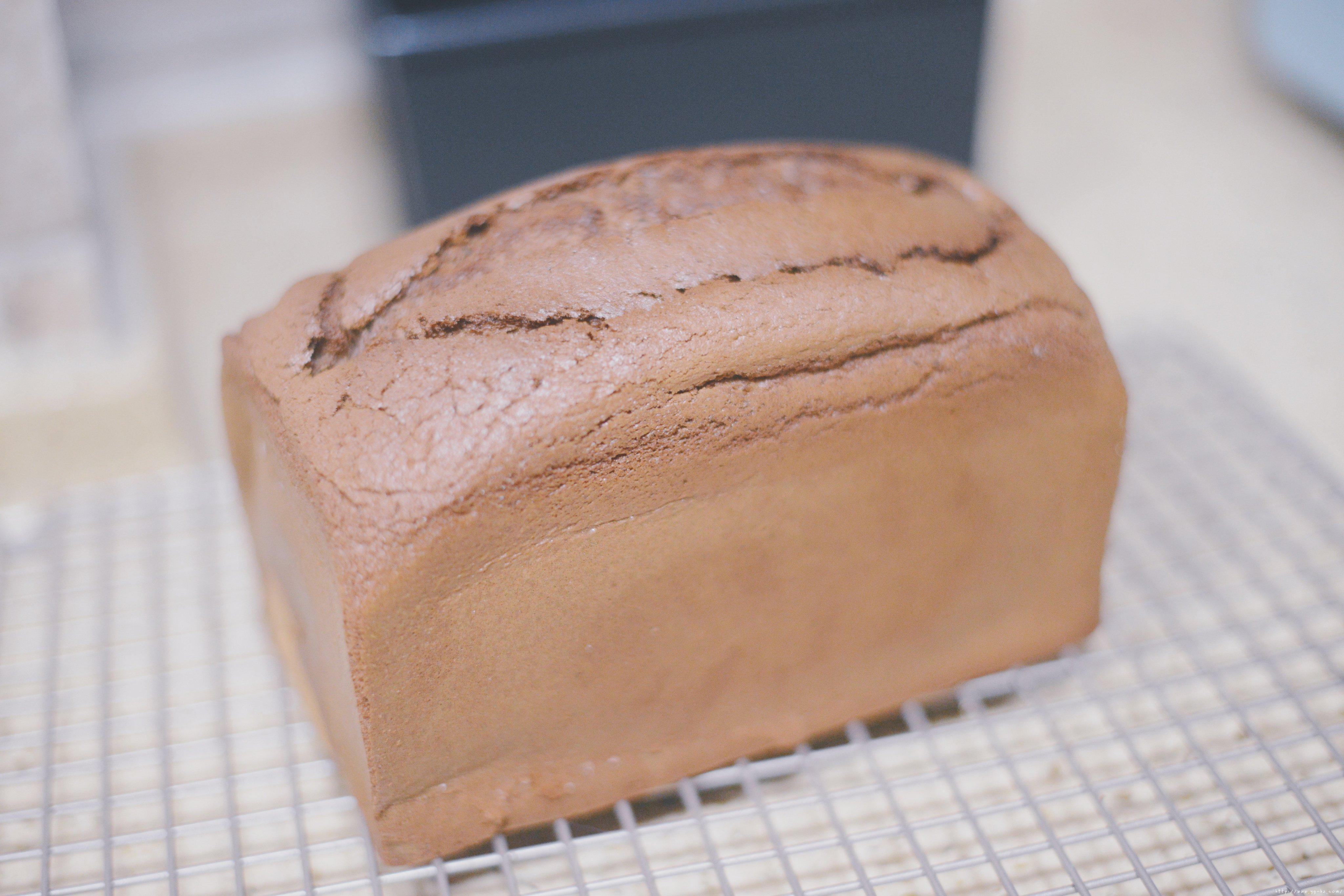 小美黑钻吐司蛋糕的做法 步骤16