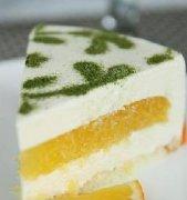 香橙豆腐慕斯蛋糕 的做