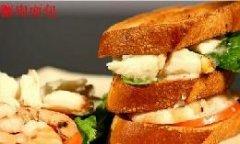 法式蟹肉面包的做法