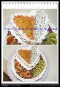 献给妈妈的爱——60大寿生日蛋糕的做法