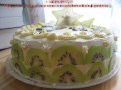 做给自己的生日蛋糕的做法