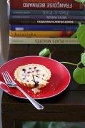 蓝莓芝士派的做法