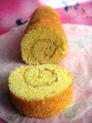 黄金海绵蛋糕卷的做法