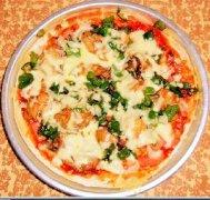 鸡肉火腿披萨的做法