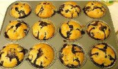 爆浆蓝莓Muffin的做法